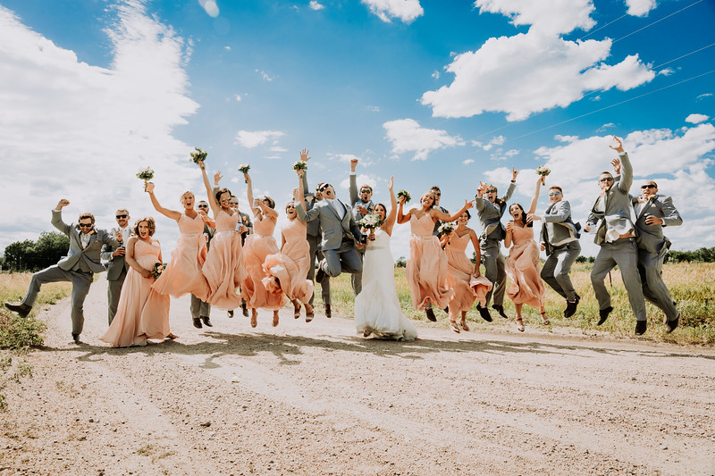 Wedding Party (Dirt Road)