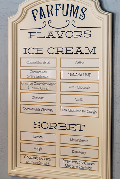 L'Artisan des Glaces Ice Cream Flavors 2016 - Epcot Walt Disney World