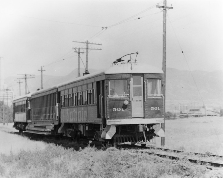 Salt Lake Garfield & Western 501.