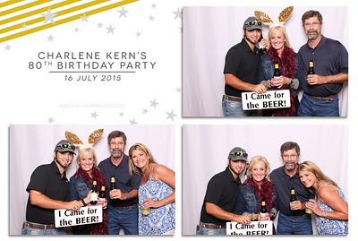 Charlene Kern's 80th Birthday Party