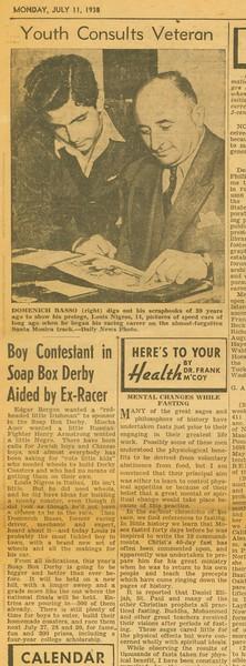 1938, Basso Aids Italian Boy
