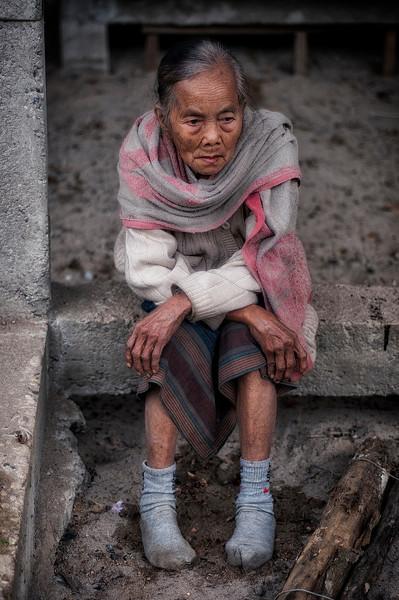 Woman in the village of Naxao.  Laos, 2010.