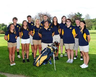 Golf Team 2015-2016