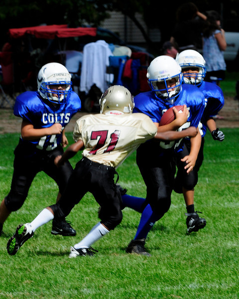 Mighty Mites Week 1 - Colts v. 49ers
