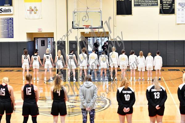 Berks Catholic vs Schuylkill Valley Girls Basketball 20 - 21