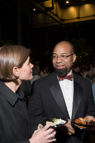 Anne-Elizabeth Murdy and John Stanmore -- HSO 25th anniversary post-concert Gala