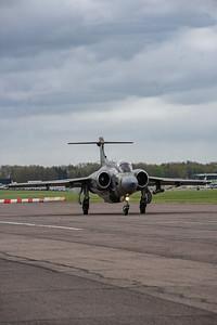 XW544 departs