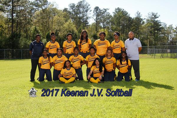 2017 JV Softball