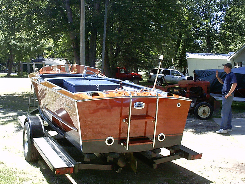 Port rear view.