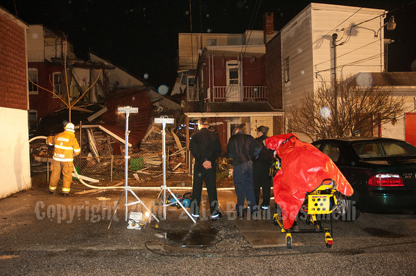 10MAR07 York City Gas Explosion