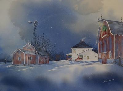 2013 Elkhorn Chamber Christmas print