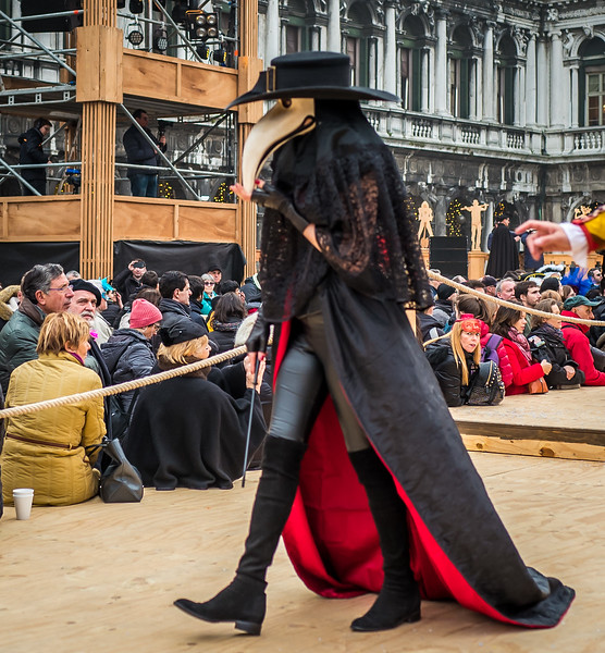 Plague doctor, Carnival of Venice