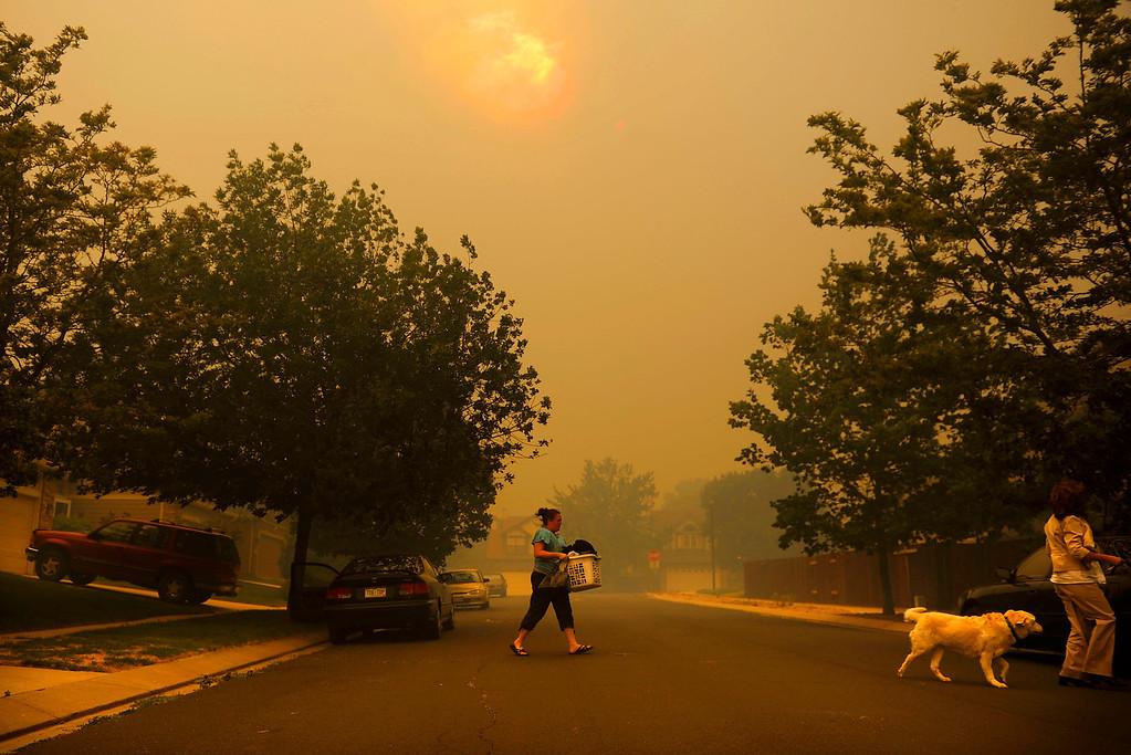. Waldo Canyon Fire continues to grow, Tuesday June 26, 2012, near Colorado Spring. RJ Sangosti, The Denver Post
