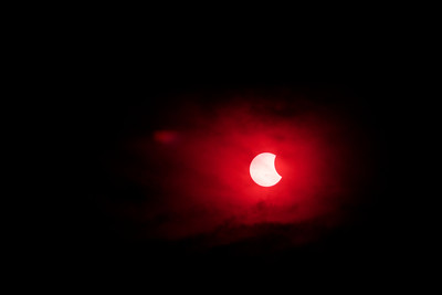 Solar Eclipse 2014 in Longmont, CO