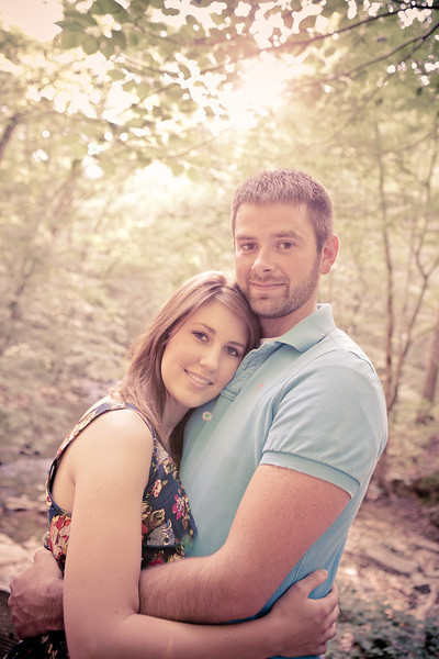 Carey Cavender and Courtney Lester Engagement 2012
