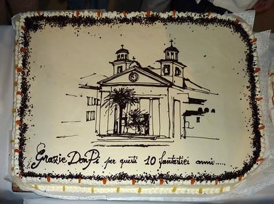 Festa di saluto a don Pino Carpi in Santa Maria di Nazareth