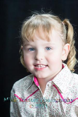 Delanie Fatur 3 yr. Portrait 2014