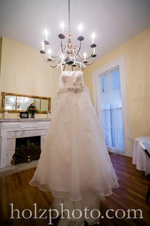 Kristi and Shawn Color Wedding Photos