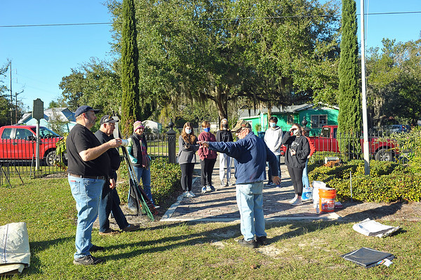 OGCS and KGIB Cleanup Of Cemetery 12-02-20
