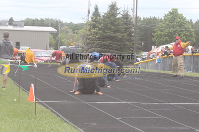 UP Boys' 400 Meter Dash - 2015 MHSAA TF Finals