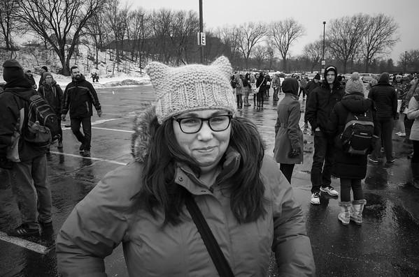 2017 Women's March in St Paul