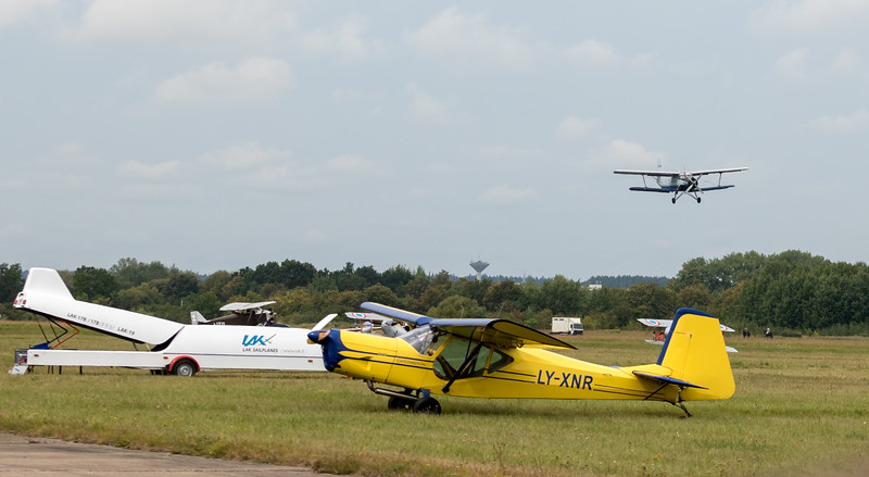 Some plane activity