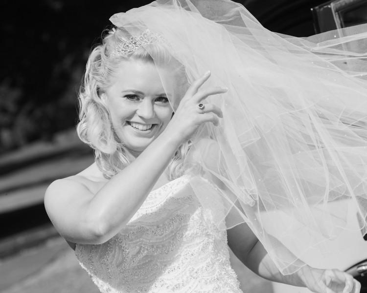 Windy Day Wedding