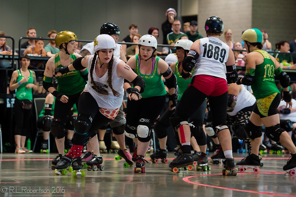 OBA vs High Rollers (Championship Bout)