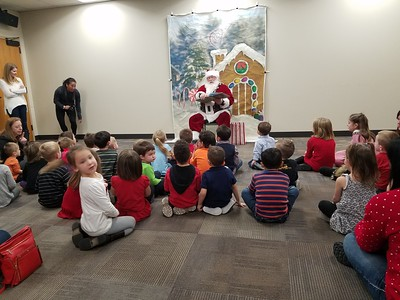 Santa at Daycare