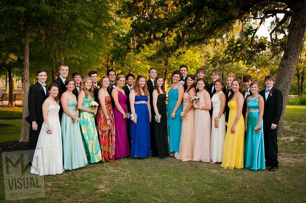 Houston Christian HS Prom 2012
