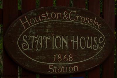 Houston & Crosslee Railway Station