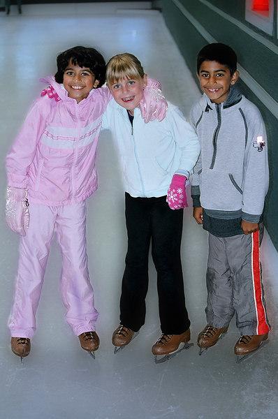 Elena with Nimisha and Rishub.