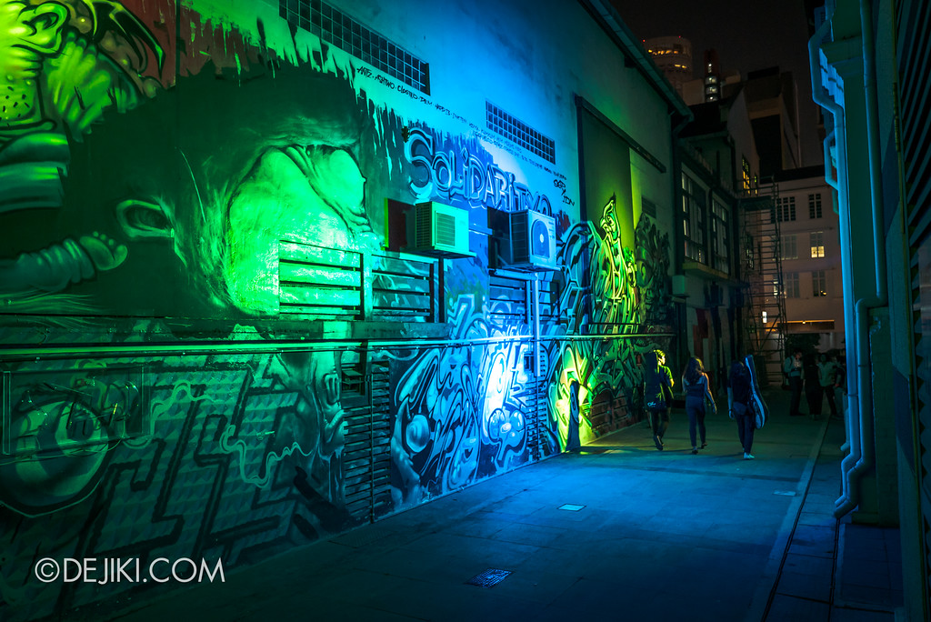 Singapore Night Festival 2018 - Night Lights / Graffiti Alive by Arup Singapore 2