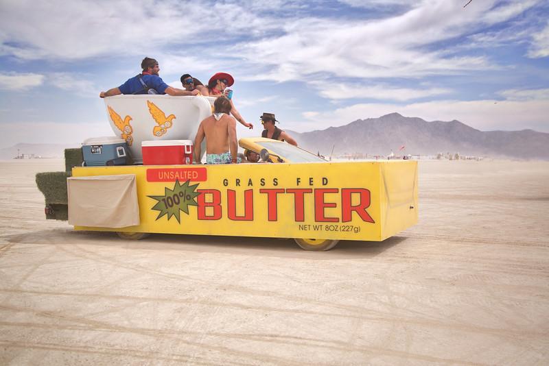 Butter Art Car