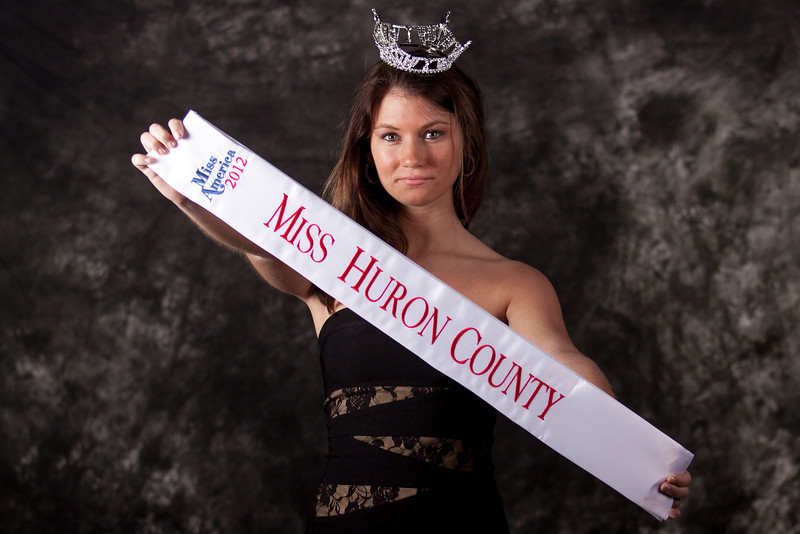 Allison Vance - Miss Huron County 2012