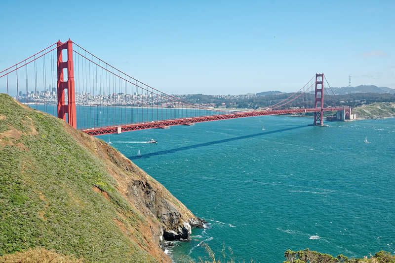 The Golden Gate , San Francisco