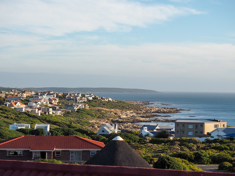 View of Gansbaai, South Africa