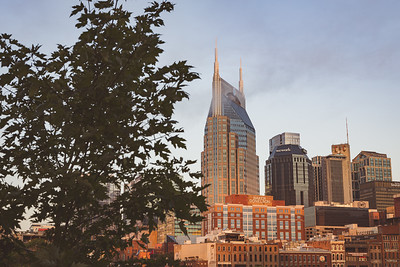 Downtown Nashville at Sunrise