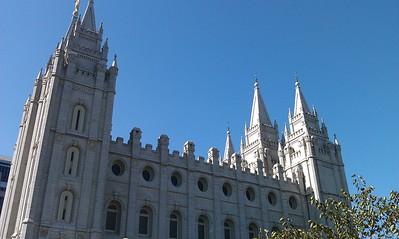 Salt Lake City - Temple Square & State Capitol (UT)