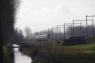 16 februari eetc 1200 skitrein treinenfoto's rond culemborg