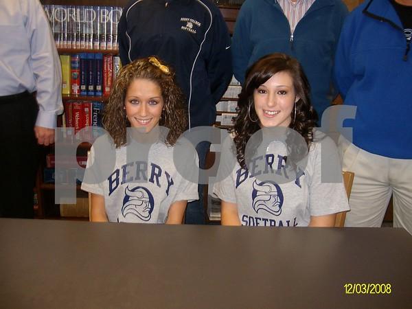 Softball Signings - Feb. 12, 2009