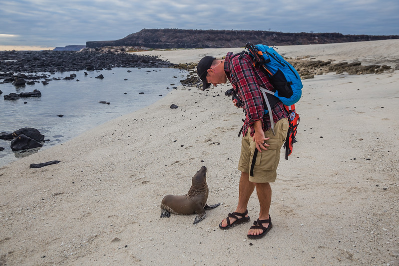 Beach in the Galapagos Islands