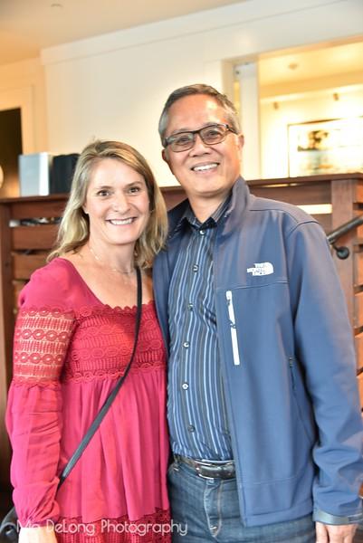 Lucinda Otto and Robert Pascual