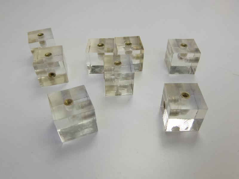 20mm Acrylic Cube Connectors