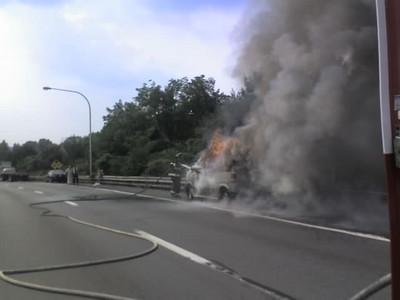 West-Shore Bypass Vehicle Fire