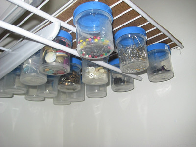 Sewing Storage Jars