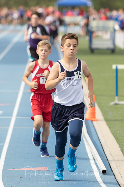 2018-05-14 Hillsdale Academy Junior High Track at Home