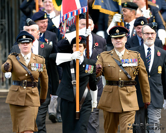 Peterborough City Remembrance & Armistice Day 2014