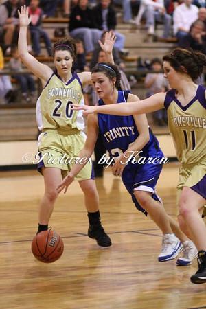 Trinity Varsity Girls vs Booneville