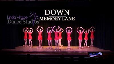 Linda Virgoe Dance Studios 'Down Memory Lane'